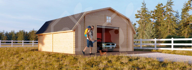 Garage Barn 20x20 1.7'' 400ft² (log cabin) US on 20x30 cabin, tower cabin, 24 x 20 cabin, barn style shed cabin, 4x4 cabin, shed plans small cabin, 20x24 cabin, 24x24 ft cabin, 14x24 cabin, 8 x 20 cabin, 12 by 16 loft cabin, build your own little cabin, 24x28 cabin, foundation pier and beam cabin, 20 x 20 hunting cabin, 10x12 cabin, 12x16 gambrel cabin, 16x24 cabin, 14x36 cabin, 12x20 cabin,