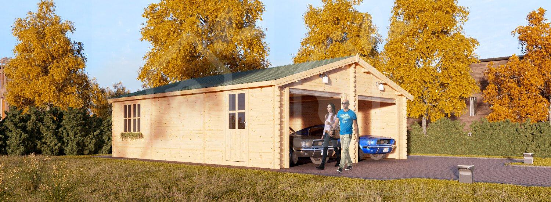 Wooden Garage Hangar 23 X 30