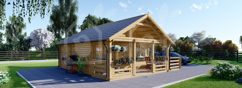 Loft Cabin Alex 20 X 20