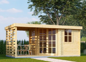 Insulating your wooden shed or log cabin | Pineca com
