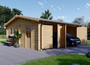 Wooden Garage Rock 23 x 23