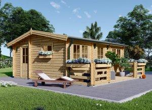 Log cabin ALTO 20' x 17'