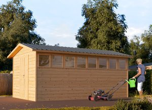 Wooden Shed KAPPA10' x 15'5""