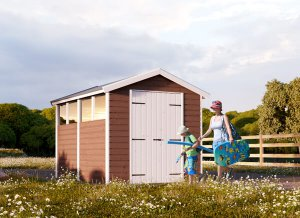 Wooden Shed ZETA 6' x 8'