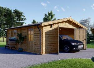 Wooden Garage 20 x 20