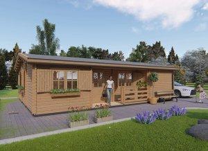 Log cabin UZES 34 x 23'