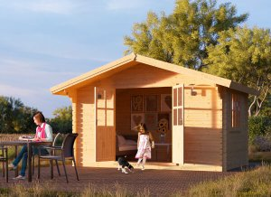 Garden wooden shed RENNES 13 x 10