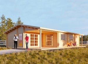 Log cabin LINDA 39'4'' x 26'3''