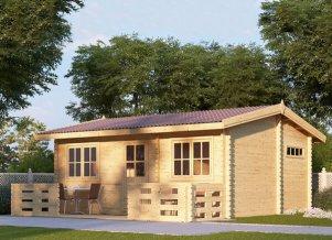 Log cabin ALTO 20 x 17