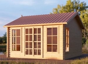 Wooden Shed POOLHOUSE 13 x 10