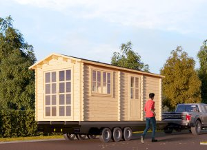 "Tiny home on Trailer 17'1"" x 9'2"""