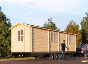 "Tiny home on Trailer 28'7"" x 9'2"""