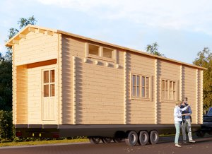 "Tiny home on Trailer 29'6"" x 9'2"""