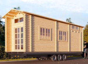 "Tiny home on Trailer 27'10"" x 9'2"""
