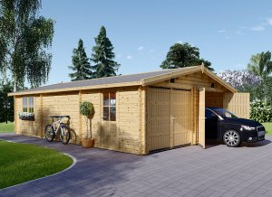 Wooden Garage Hangar 23 x 30