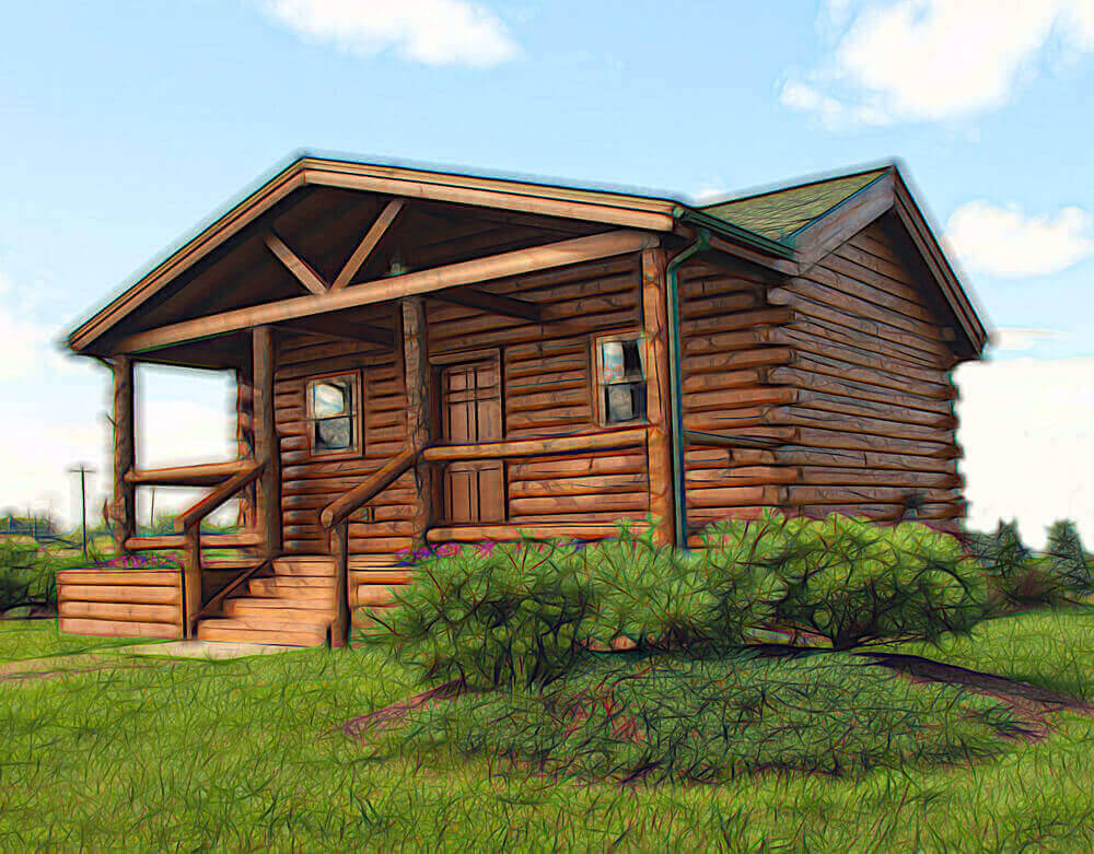 Types of log cabins available