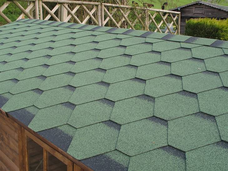 Felt Shingle Roof For Your Log Cabin
