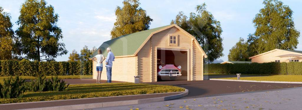 Want a Wooden Garage? Here Is What You Need To Know About Wooden Walls