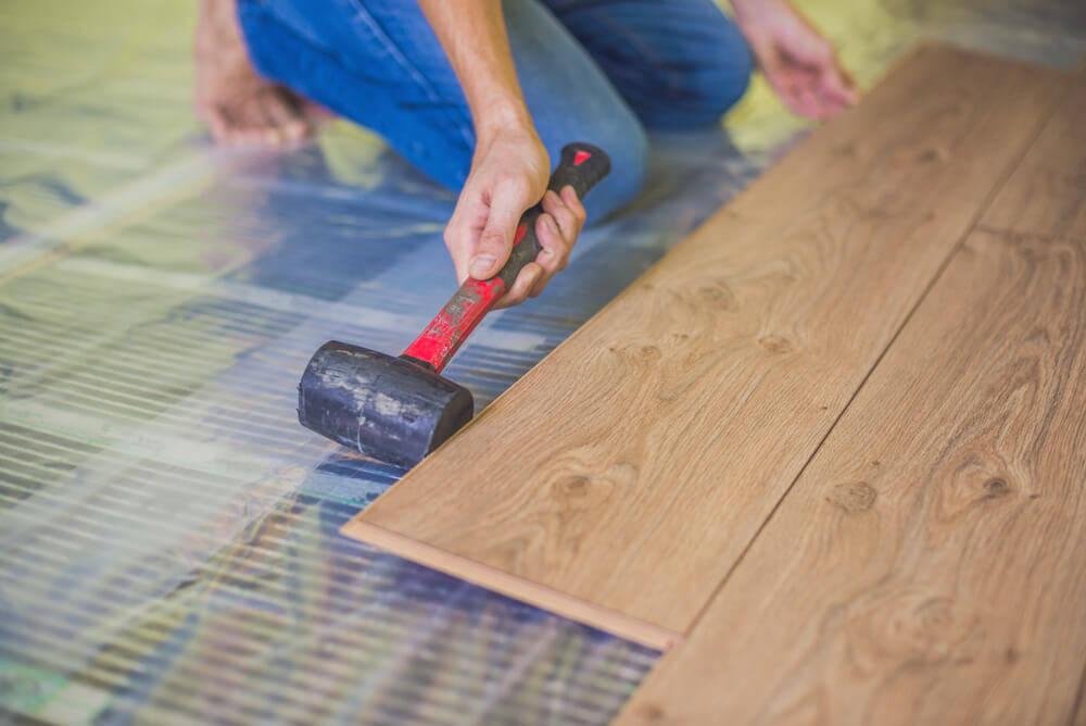heated-floors-in-a-log-cabin