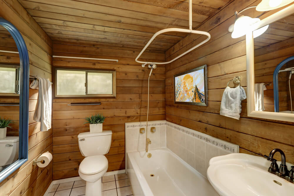 5 Ways To Create The Perfect Bathroom For Your Log Cabin