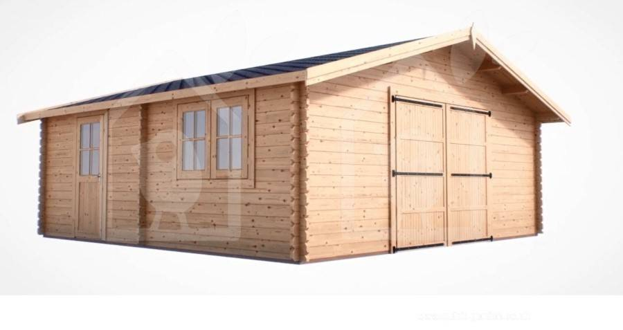 Features of Wooden Garages