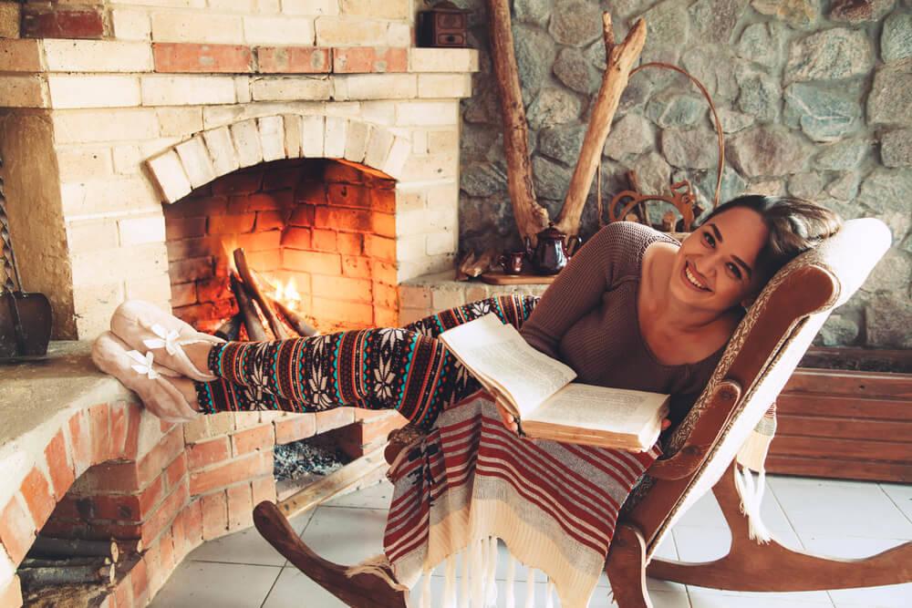girl-in-a-log-cabin