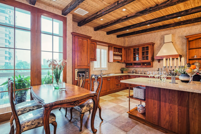 The interior design of your log cabin