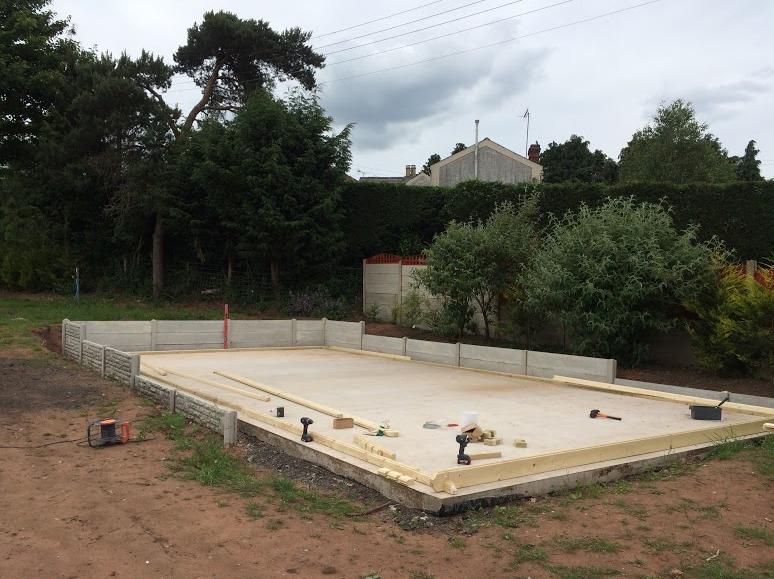 wooden-garage-foundation