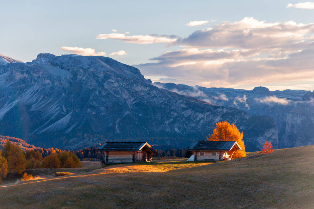 cozy-log-cabin-mountains