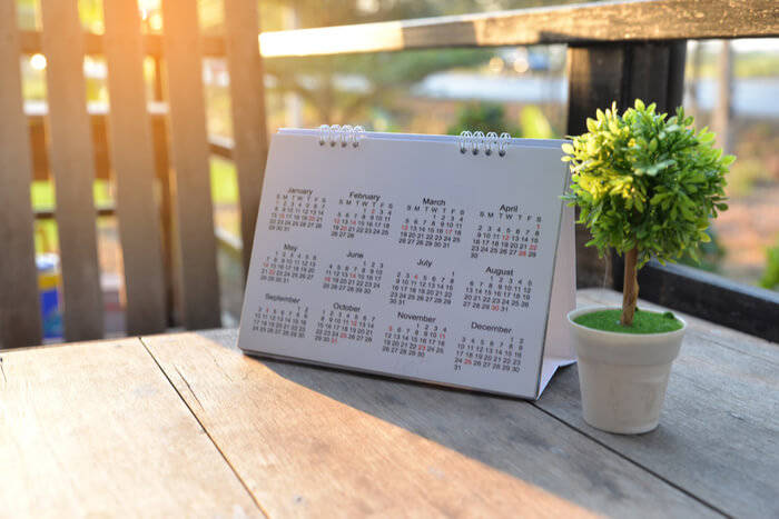 Biodynamic Gardening calendar
