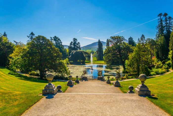 Powerscourt famous Gardens